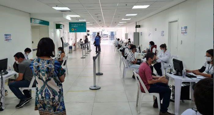 Imunização dos funcionários do Aeroporto de Viracopos - Foto: Divulgação/PMC