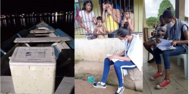 Imagens do inquérito realizado em diferentes estados do Brasil. Foto: Divulgação