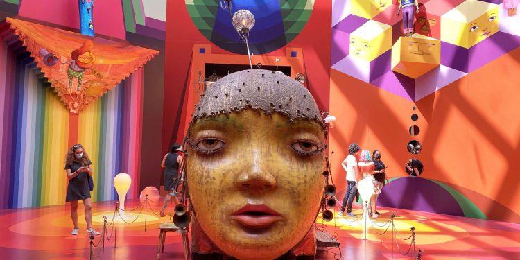 OSGEMEOS: Segredos é uma mostra que foi inaugurada em outubro do ano passado. Foto: Divulgação