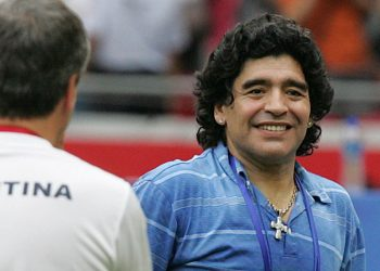 Maradona morreu em novembro passado, em circunstâncias suspeitas. Foto: Arquivo