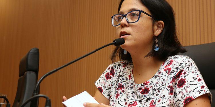 A vereadora do PSOL em Campinas, Mariana Conti: contra aliança com a direita liberal. Foto: Divuçgação \CMC