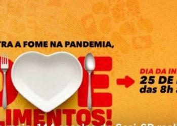 Unidade do Sesi em Campinas: objetivo é receber doações para campanha contra a fome - Foto: Reprodução