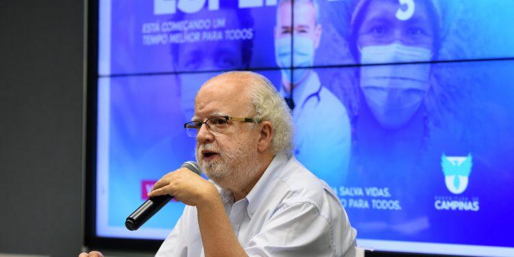 O secretário de Educação de Campinas, José Tadeu Jorge. Foto: Divulgação \ PMC