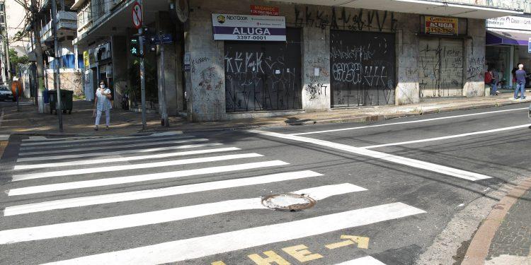 Região central de Campinas: estudo do TCE mostra dificuldades dos municípios na pandemia. Foto: Leandro Ferreira \ Hora Campinas