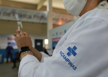 Secretaria de Saúde promove o Dia D de vacina contra covid, neste sábado, para pessoas de 45 anos ou mais, com comorbidades.  Foto: Leandro Ferreira \ Hora Campinas