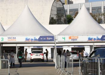 Posto drive-thru da Capital: fraudes do grupo de comorbidades se espalham pelo País. Foto: Divulgação