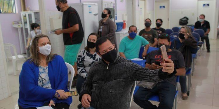 No Dia D da vacinação contra a Covid foram imunizados mais de 23 mil campineiros. Foto: Leandro Ferreira/Hora Campinas