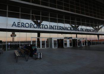 Aeroporto de Viracopos, em Campinas: investidores temem que área seja reduzida. Foto: Leandro Ferreira \ Hora Campinas