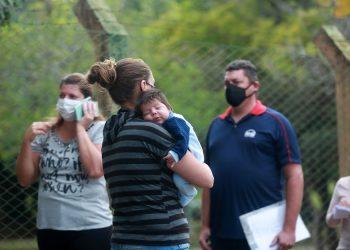 Campinas (SP) começou a vacinar  na manhã desta terça-feira (8) grávidas e puérperas sem comorbidades contra a covid-19.  Na foto o Centro de Vivência do Idoso no bairro Taquaral.