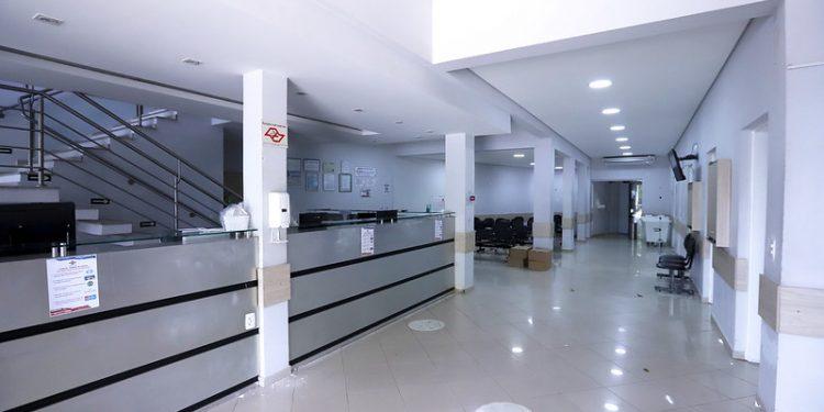 O antigo Hospital metropolitano está com 15 novas vagas para UTI Covid em Campinas. Foto: Fernanda Sunega/PMC