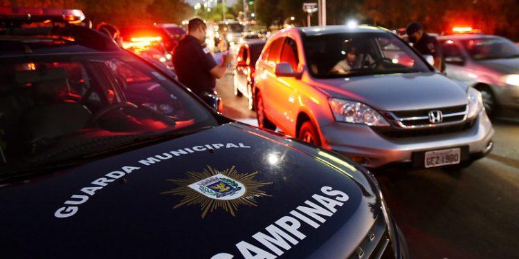 Guarda Municipal também realizou fiscalizações do Toque de Recolher nas ruas de Campinas. Foto: Carlos Bassan/PMC