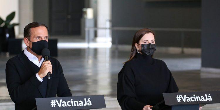Governador João Doria anuncia que a fase de transição irá até o final do mês no estado. Foto: Divulgação