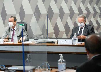 Renan Calheiros, relator da CPI da Pandemia divulgou lista de pessoas a serem investigadas - Foto: Marcos Oliveira/Agência Senado