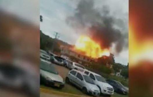 Carro-bomba explode em batalhão militar - Foto: Reprodução
