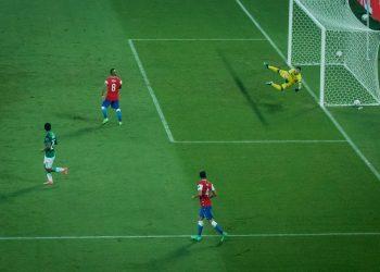 Lance do jogo entre Chile e Bolívia Foto: Fotos: Christiano Antonucci/Secom-MT
