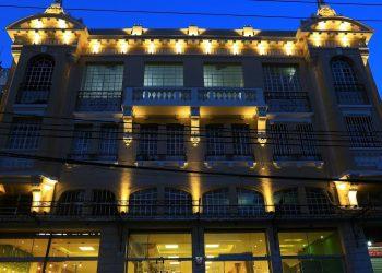 A reforma do prédio onde fica o tradicional Eden Bar, na Barão de Jaguara, está quase finalizada. Foto: Leandro Ferreira/Hora Campinas