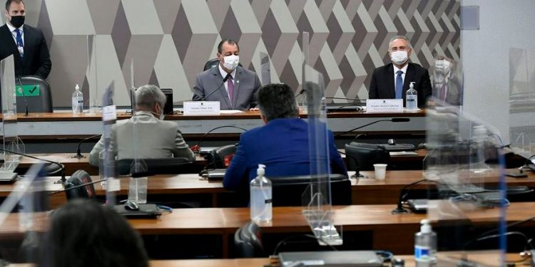Presidente da CPI decide suspender trabalhos depois da ausência de empresário - Foto: Edilson Rodrigues/ Agência Senado