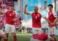 Jogadores da Dinamarca pedem atendimento a Eriksen: cenas seguintes foram de desespero, e geraram uma comoção mundial Foto: Divulgação