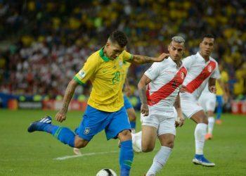 Seleção brasileira em jogo da Copa América - Foto: Fernando Frazão/ Agência Brasil