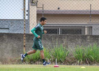 O lateral-direito Diogo Mateus, reforço do Guarani - Foto: Departamento de Comunicação/ Guarani FC