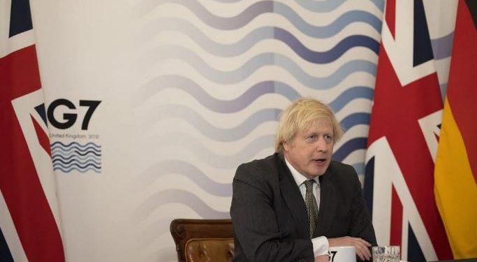 O primeiro-ministro inglês Boris Johnson é o anfitrião do encontro - Foto: Andrew Parsons / Nº 10 Downing Street/Fotos Públicas