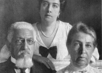 Francisco Glicério junto com a sua mulher Adelina e a filha Henriqueta: político acompanhou as principais transformações da Monarquia para a República Foto: Reddit/Reprodução