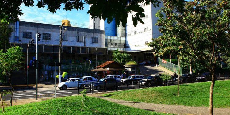 O Hospital Mário Gatti , que está com estoque baixo de sangue. Foto: Leandro Ferreira/AAN