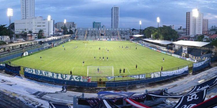 O Guarani encara o Remo no estádio Baenão, em Belém, hoje, a partir das 21h30, pela 6ª rodada da Série B do Campeonato Brasileiro- Foto: Samara Miranda/Remo
