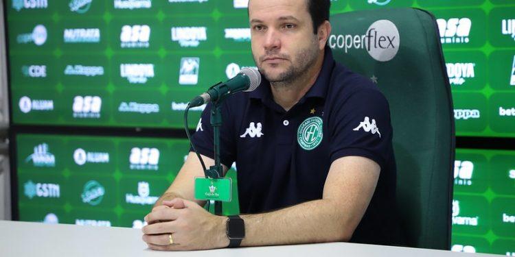 O técnico do Guarani, Daniel Paulista, ressalta preparo físico da equipe - Foto: Celso Congilio/ Guarani FC