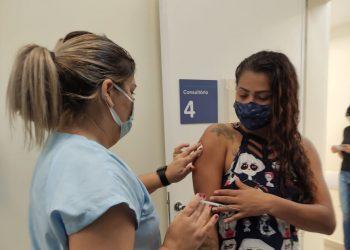 No Dia D contra a Covid em Hortolândia fora, imunizados 5.709  pessoas. Foto: Divulgação