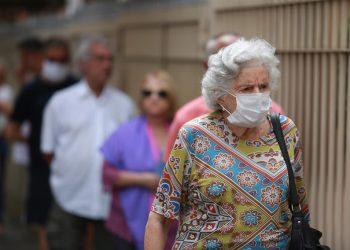 Os idosos foram incluídas na segunda fase da vacinação contra a gripe. Foto: Leandro Ferreira/AAN