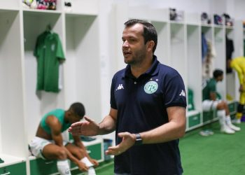 """O técnico bugrino Daniel Paulista admite que dérbi """"é um jogo diferente"""" dos demais. Foto: Thomaz Marostegan/Guarani FC"""