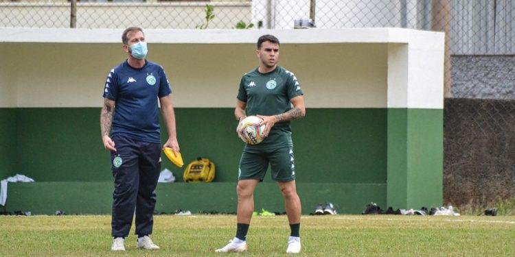Andrigo ficou fora das três últimas partidas para tratar uma fascite plantar. Foto: Depto de Comunicação/Guarani FC.