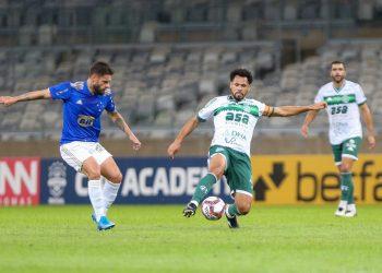 O Guarani disputou uma partida movimentada e foi buscar o empate no Mineirão. Foto: Thomaz Marostegan/Guarani FC