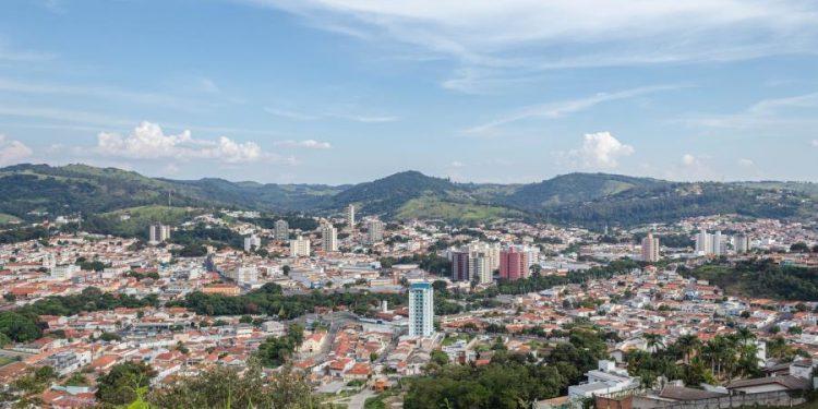 Cidade de Amparo, na região da DRS-Campinas, que decretou lockdown no final de semana. Foto: Divulgação