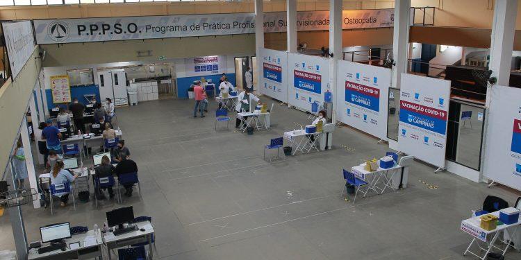 Centros de Vacinação instalados em áreas particulares serão desativados. Foto: Leandro Ferreira \ Hora Campinas