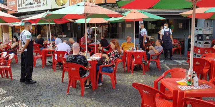 Associação de Bares e restaurantes ameaça ir à Justiça contra medidas de restrição. Foto: leandro Ferreira/Hora Campinas
