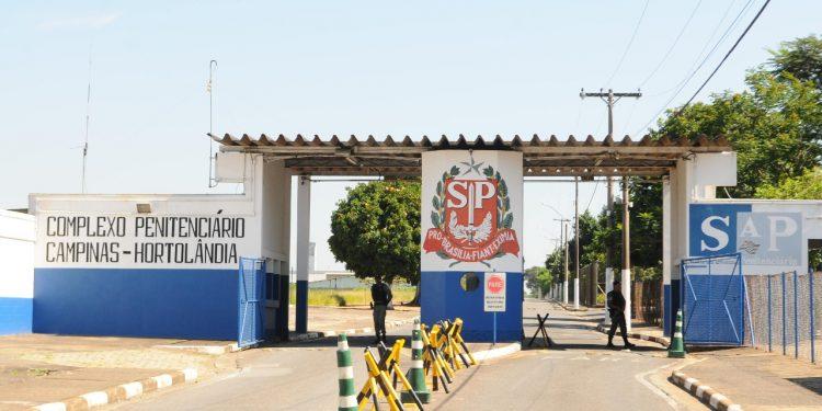 Entrada do Complexo Penitenciário Campinas \ Hortolândia: Covid. Foto: Leandro Ferreira \ Hora Campinas