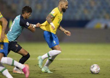 Sem Neymar, time brasileiro teve problemas no ataque e ficou no empate com Equador. Foto: Agência Brasil