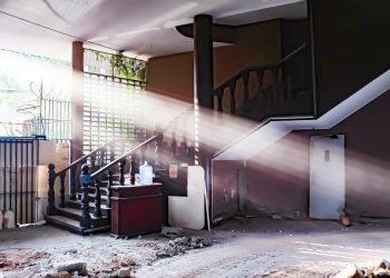 A sede social do Cultura, na Irmã Serafina, estava desocupada desde 2016. Foto: Leandro Ferreira/Hora Campinas