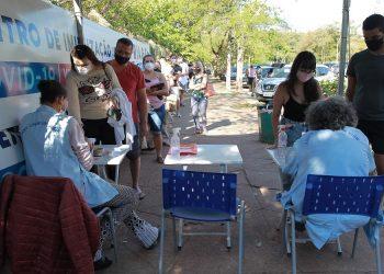 O Dia D da vacinação imunizou 23.104 pessoas em 62 centros de saúde e cinco postos de vacinação. Foto: Leandro Ferreira/Hora Campinas