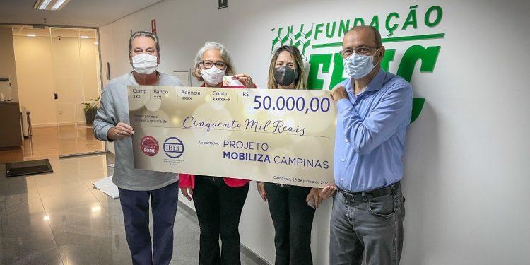 A campanha foi realizada junto aos associados do IBEF. Foto: Divulgação