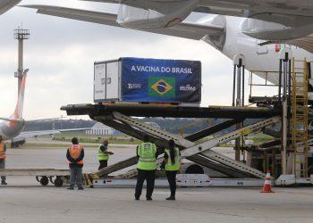 Carregamento vindo da China, desembarca em Guarulhos nesta sábado à tarde. Foto: Divulgação