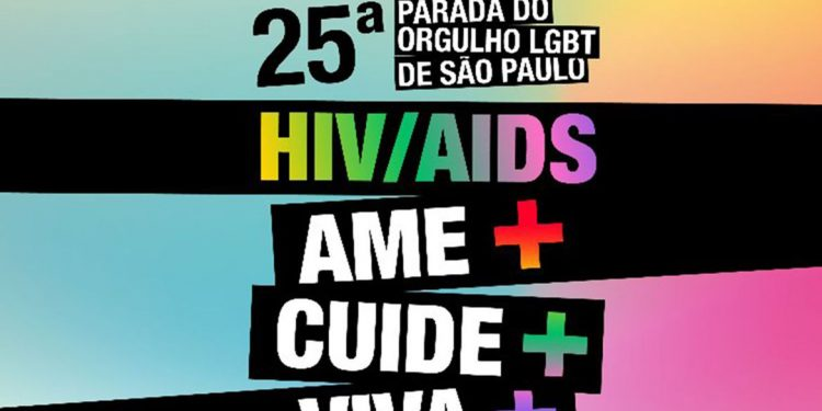 25ª Parada do Orgulho LGBT de São Paulo - Evento Oficial. Foto: Divulgação