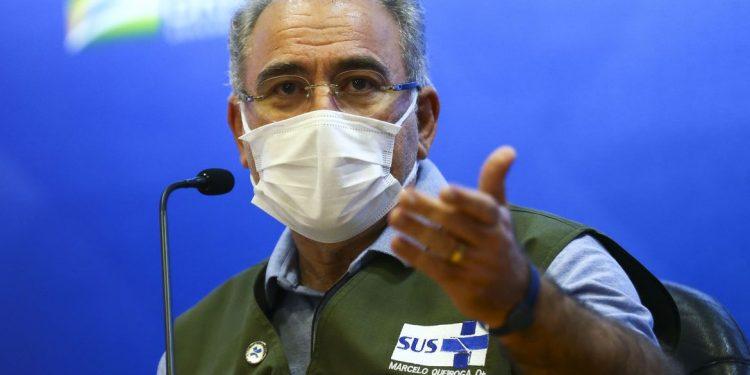 O ministro da Saúde, Marcelo Queiroga: 4 milhões ignoraram a segunda dose. Foto: Agência Brasil