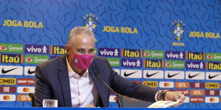 O técnico Tite anunciou nesta quarta os 24 jogadores que disputarão a Copa América. Foto: Divulgação