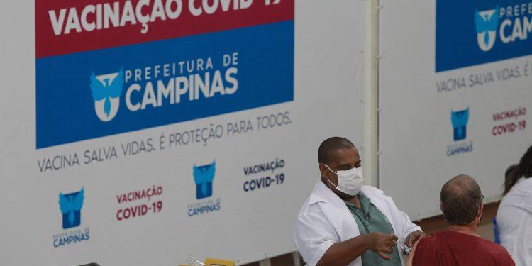 Campinas já promoveu três edições do Dia D da vacina contra a covid-19. Foto: Leandro Ferreira \ Hora Campinaas
