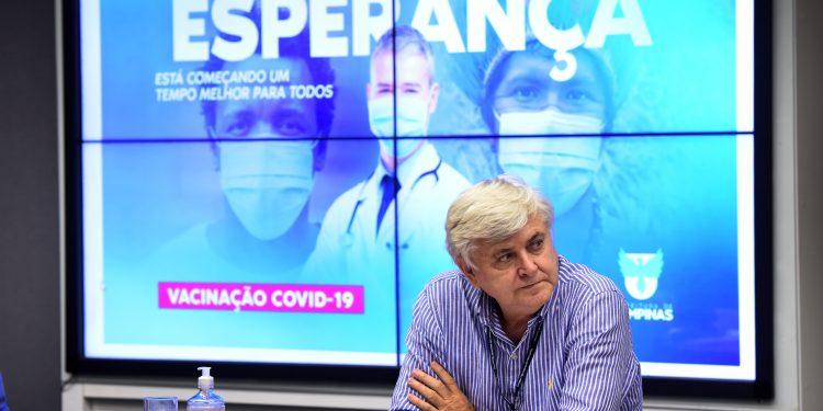 O secretário de saúde de Campinas, Lair Zambon: expectativa sobre o controle da pandemia. Foto: Divulgação PMC