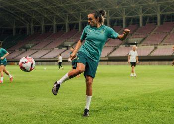 A veterana Marta disputa sua quinta Olimpíada. Foto? CBF/Divulgação