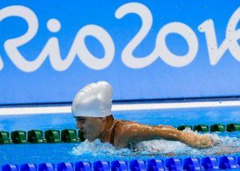 A nadadora João Neves - Foto; Divulgação/Comitê Paralímpico Brasileiro